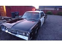 Police car Dodge Polara 1968 5.2 V8