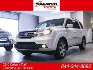 2015 Honda Pilot Touring, Navigation, DVD, Leather, Heated Front