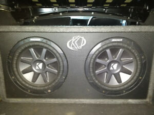 For sale: audio system