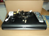 Sky HD set top box + remote + cables