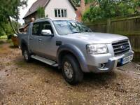 Ford ranger wildtrak 3.0L 150bhp 2008