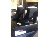 RJR.John Rocha - Black high Chelsea boots Size 5