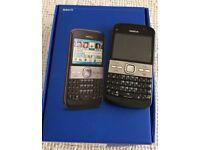 Nokia E5-00 Mobile phone.