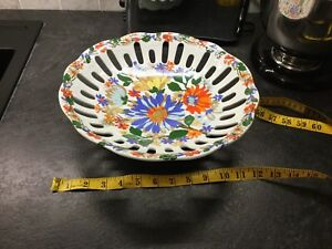 Vintage retro 50s 60s 79s mod pop art hippy bowl china
