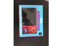 MR AWESOME LEATHER WALLET AND KEY RING