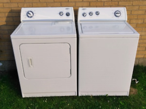Whirlpool Washer & Dryer Set Excellent Working Condition