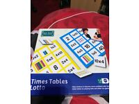 Times Table Lotto (Brand New)