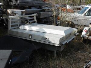 Aluminum truck box cover