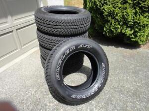 Bridgestone Dueler A/T Tires from Jeep Wrangler P255/70R18