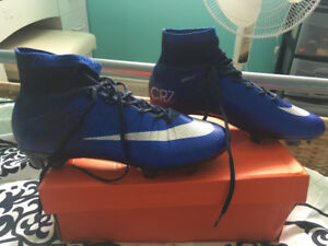 Nike CR7 Soccer Cleats, Size 8.5