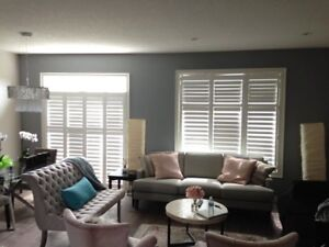 Shutters, Shades, Blinds on Sale!