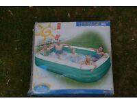 10ft Family Paddling pool - unused