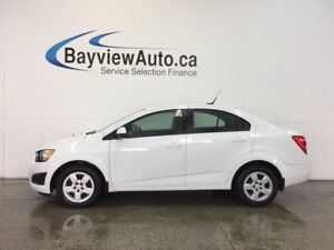2014 Chevrolet SONIC LS- 1.8L! AUTO! A/C! ON STAR! LOW KM'S!