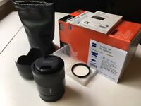 Sony 55mm Zeiss Sonnar T F/1.8 ZA FE Lens