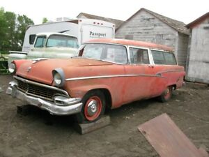 1956 Ford Tudor Customline Ranch Wagon