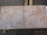NEW Italian Quality Ceramic Floor Tiles 6 Box's 15 SQ Feet per box NEW