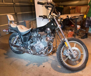Parting out '85 XV1000 Virago