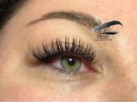 Semi-permanent eyelash extensions £60/ Russian Volume £80