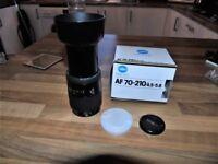 Konica Minolta Maxxum 70-210mm f/4.5-5.6 AF II Lens