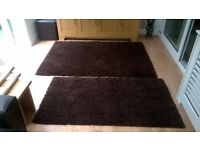 Rugs 180x120 (6x4ft.) and 120x80 (4x2.6ft), vgc, would suit any neutral room