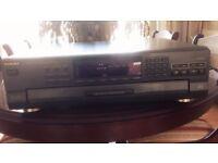 Technics 5-disk DVD player