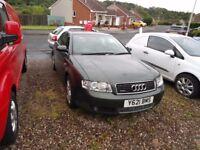 2001 Audi A4 2.5 Tdi V6 Quattro SPARES OR REPAIRS