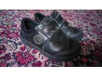 Boys Clarks school shoes 8 g