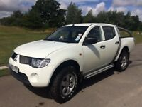Mitsubishi L200 2007 pick up / van White 2.5 4WD Double Cab