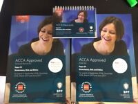 BPP ACCA P1 Complete learning pack (Study text + Practice and revision Kit+ Passcards)