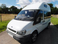 Ford Transit Sand Piper - 4 Berth and Travel Seats - Overcab Bed
