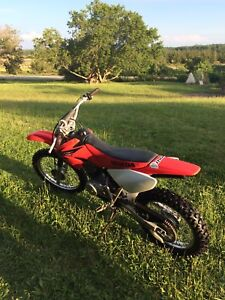 Honda CRF 100f dirt bike