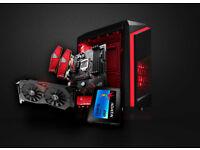Super Fast Pro Video PC Intel i7 7700k Strix 16GB DDR4 Ram Kaby Lake Desktop 120GB SSD Windows 10