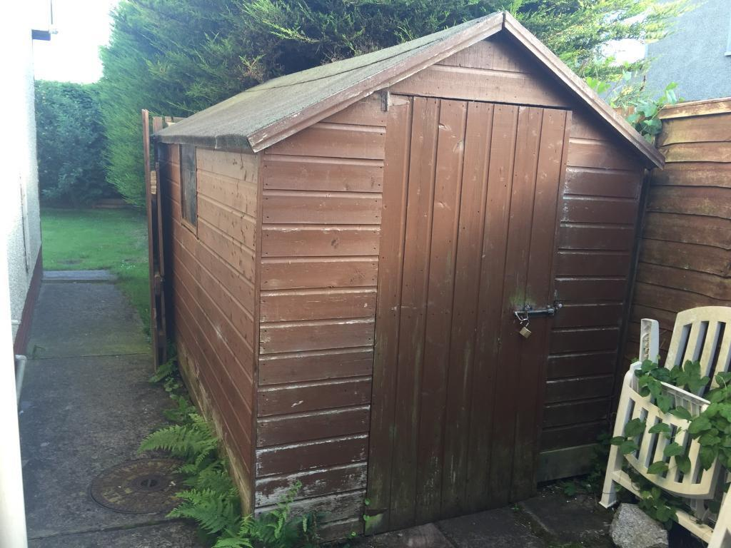 Garden shedin Warrenpoint, County DownGumtree - 10 x 8 garden shedNeed of repair on roof and one sideBuyer to dismantle