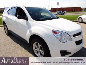 2015 Chevrolet Equinox LS **ACCIDENT FREE CERTIFIED*** $14,999