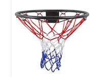 Basketball hoop - attaches to wall