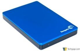 Seagate 2TB External Hard Drive. Runs with PS4 & XBOX etc May swap for Wii U games.