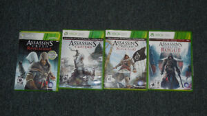 X-Box 360 4 Assassins CreedGames