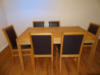 Solid Dining Table And 6 Chairs For Sale Bristol Warmley