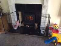 Large fire guard suitable for wood burner