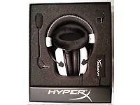 Hyper-X Cloud White Gaming Headset - New