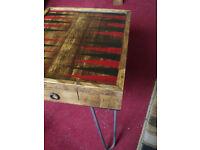 Backgammon coffee table retro / vintage