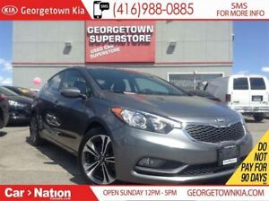 2015 Kia Forte 2.0L SX | NAVI | LEATHER | ROOF | BACK UP CAM |