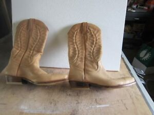 LOBLAN LEATHER COWBOY BOOTS