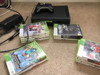 XBOX 360 with controller and Games inc Minecraft