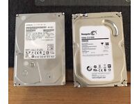 2x 2TB hard drives for sale £30 each