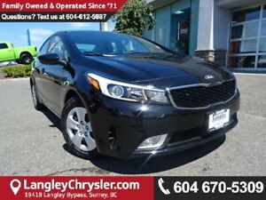 2017 Kia Forte LX W/ BLUETOOTH, SAFETY REAR CAMERA & HEATED S...