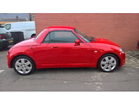 Daihatsu Copen Convertible. Fun car for Summer. Full MOT. Less than 60K miles
