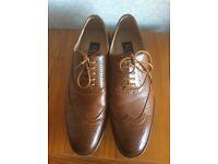 Gents tan shoes