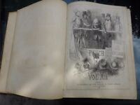 ANTIQUE BOOKS: PUNCH ANNUALS FOR THE YEARS 1846 & 1847 THEY MAKE INTERESTING READING