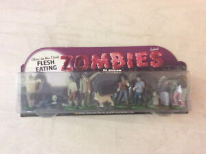 Collectable zombies glow in the dark